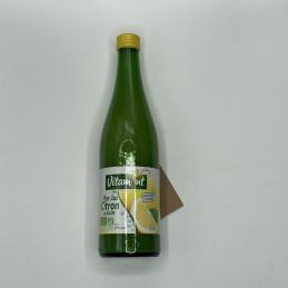 Pur jus de citron de Sicile...