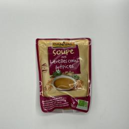 Soupe lentille corail /...