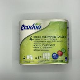 Papier toilette ecodoo 4...