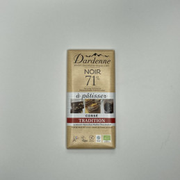 Chocolat à pâtisser noir...
