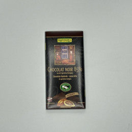 Chocolat noir 85% Rapunzel...