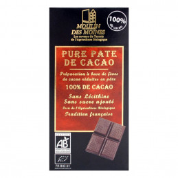 Pure pâte de cacao Moulin...