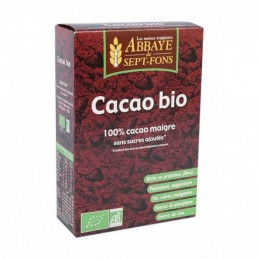 Cacao bio pur  200g -Abbaye...