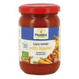 Sauce tomate aux petits...