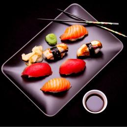 Sushis poisson blanc