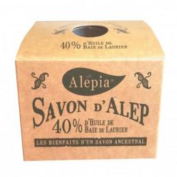 Savon d'Alep 40% huile de...