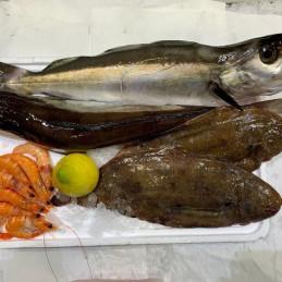 Panier à 30 € (poissons...