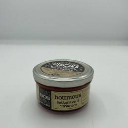 Houmous betterave coriandre