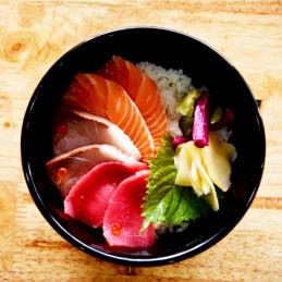 Chirashi thon saumon