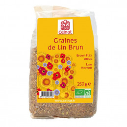 Graines de lin doré BIO...