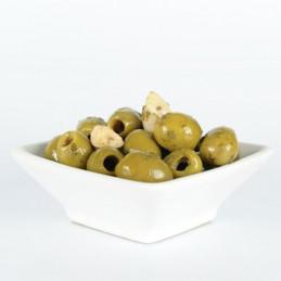 Olives à l'ail - 200g