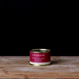 Bloc foie gras légèrement...