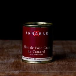 Bloc foie gras nature - 130g