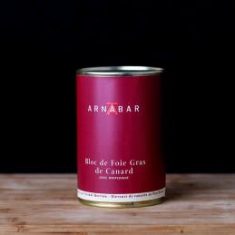 Bloc foie gras nature - 400g