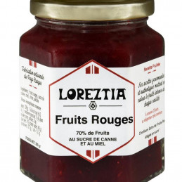 Confiture fruits rouges -...