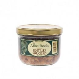 Lentilles saucisses - Anne...