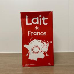 Lait de France demi-écrémé...