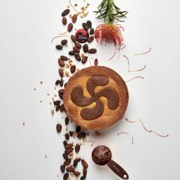 Gateau Basque au chocolat -...