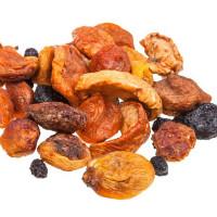Purées de fruits, fruits secs et compotes