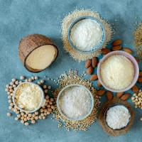 Farine, son, fécule et levure bio sans gluten